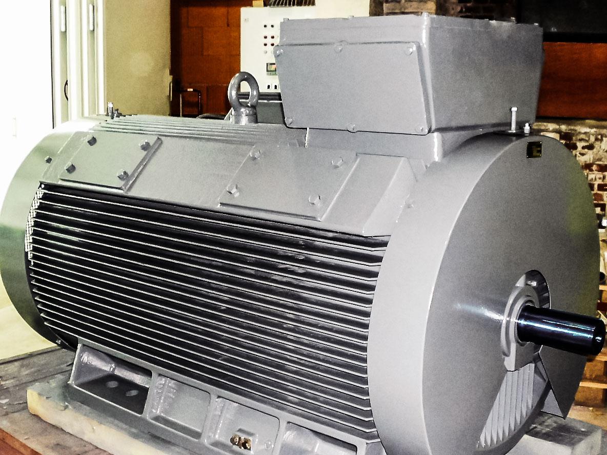 Motores asíncronos de Rotor Reboninado
