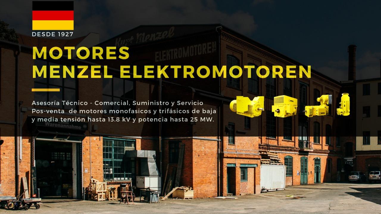 Motores MENZEL Elektromotoren